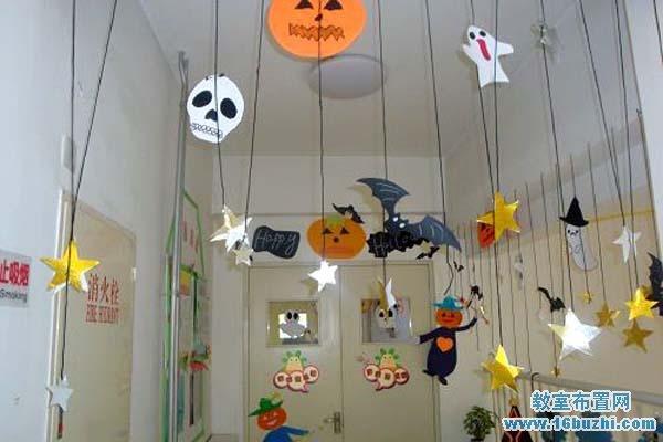 幼儿园小班万圣节吊饰设计图片