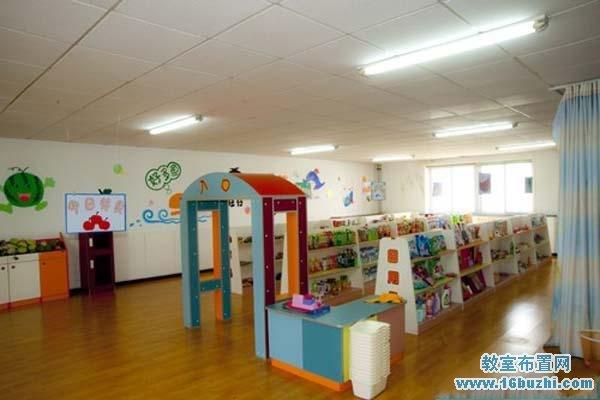 幼儿园超市角色扮演游戏室环境布置