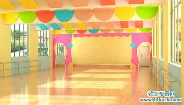 幼儿园舞蹈房装饰图片
