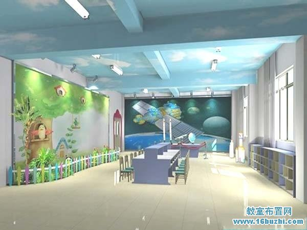 幼儿园科学教室室内设计图片