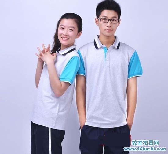 深圳高中生夏季校服设计图片