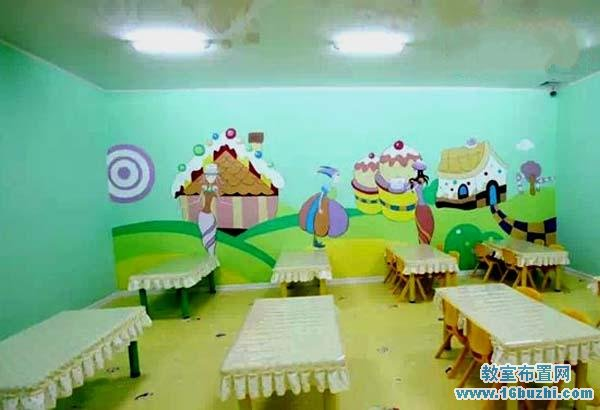 幼儿园学校餐厅环境创设图片图片