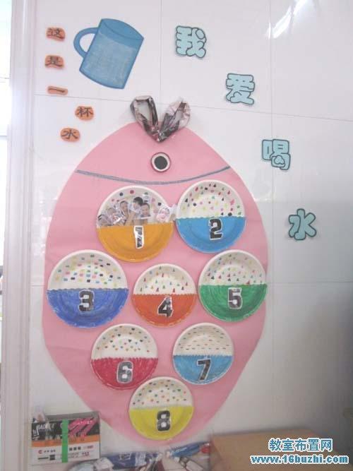 幼儿园喝水礼仪教育步骤图
