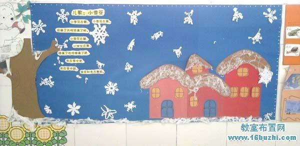 幼儿园开学教室主题墙环境布置