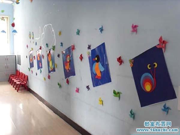 幼儿园楼道环境装扮美化图片