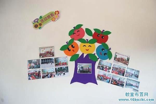 幼儿园教师办公室墙面设计图片:活动摄影