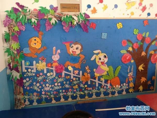 首页 幼儿园教室布置 幼儿园秋天教室布置    与您的朋友分享本图片