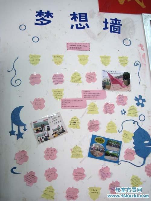 高三教室梦想墙设计图片