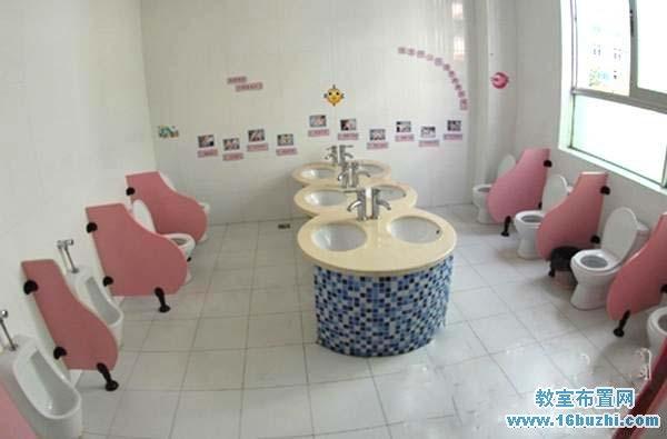 幼儿园卫生间环境布置图片