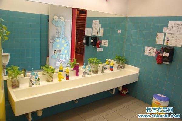幼儿园教室布置 幼儿园洗手间布置