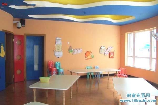 幼儿园小餐厅环境设计图片