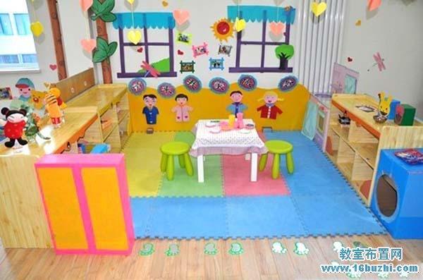 幼儿园小班娃娃家吊饰欣赏_幼儿园小班娃娃家吊饰