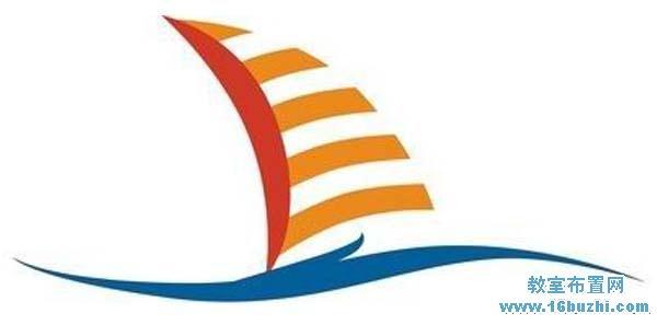 扬帆中队队徽标志设计图片