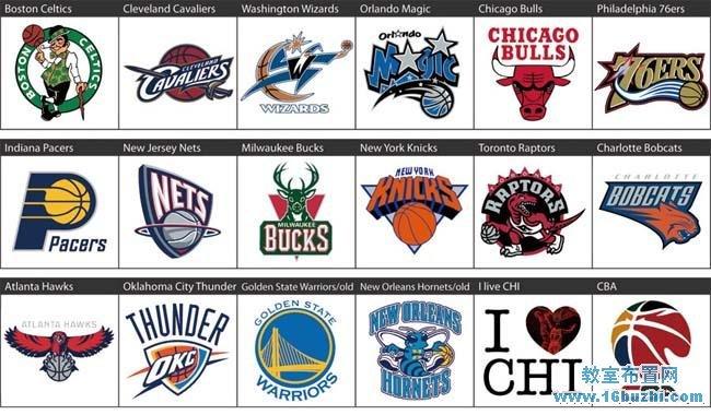 首頁 隊徽設計 籃球隊徽設計                     30支nba籃球隊隊徽