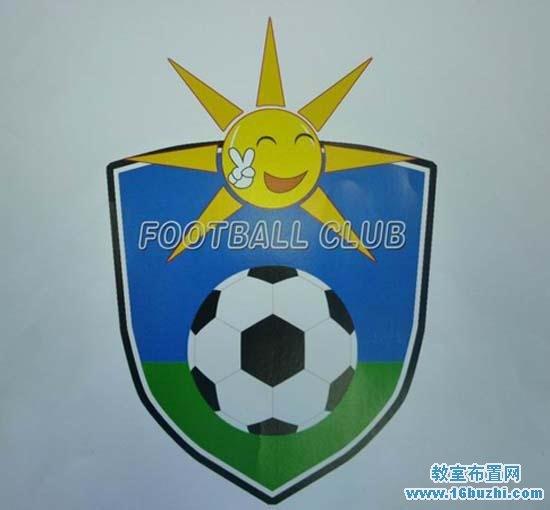 儿童足球队队徽队标设计图片