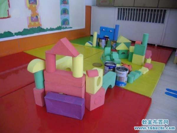 幼儿园建构区地板布置图片