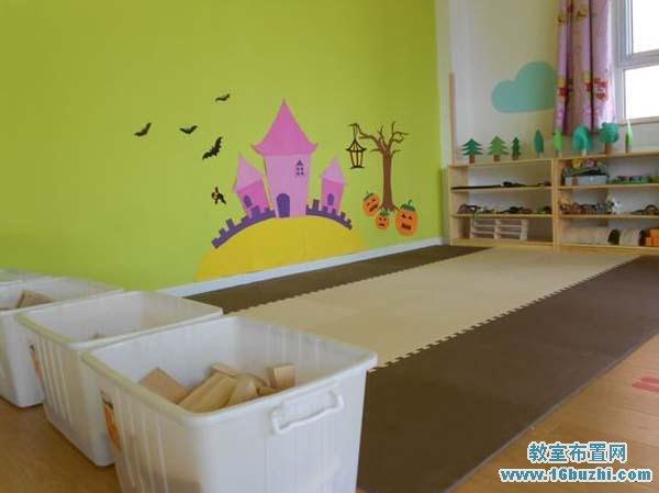 幼儿园小班建构区设计图片_教室布置网