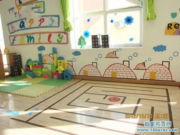 幼儿园教室布置图片_简单的幼儿园墙面布置图片图片